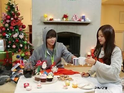 Taemin SHINee dan Na Eun A-Pink Habiskan Natal Romantis di Resort Ski