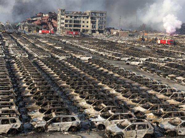 Bahan Kimia Berbahaya Dari Ledakan Tianjin Ancam Kesehatan Warga