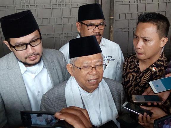 Pengakuan Ma'ruf Amin yang Tak Punya Konflik dengan Habib Rizieq Meski Jadi Cawapres Jokowi