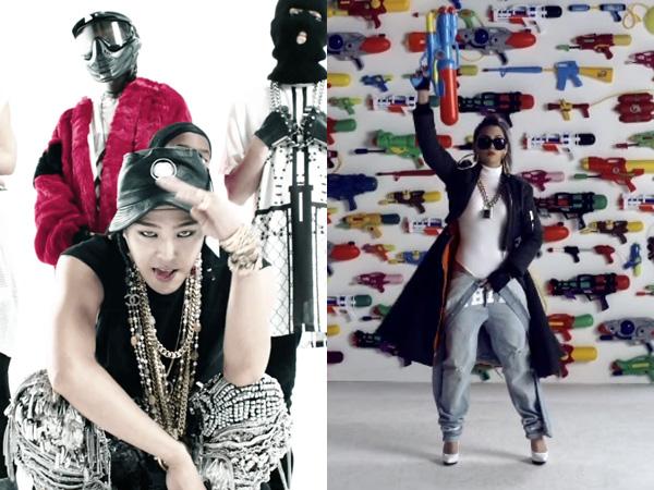 G-Dragon dan CL Tampil Unik dan Nyentrik di Video Musik 'Dirty Vibe' Skrillex!