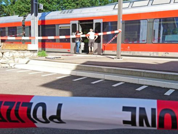 Diduga Teroris, Seorang Pria Bakar Gerbong dan Lukai Penumpang di Kereta Swiss!