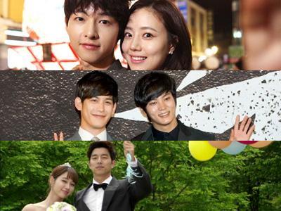 Daftar Nominasi Best Couple untuk KBS Drama Awards 2013