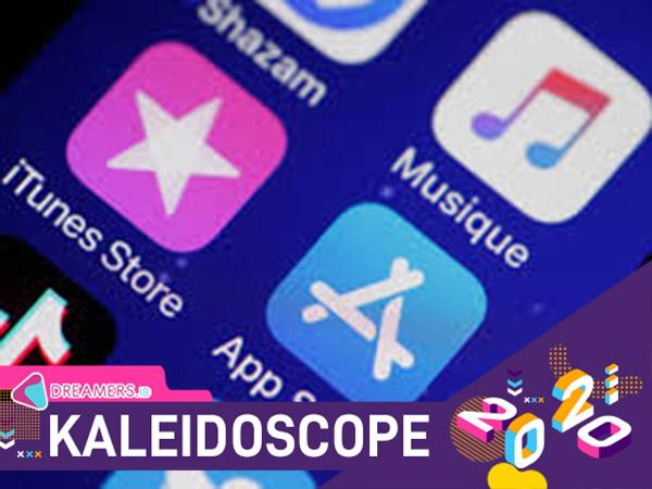 5 Aplikasi Paling Populer di iOS Sepanjang Tahun 2020