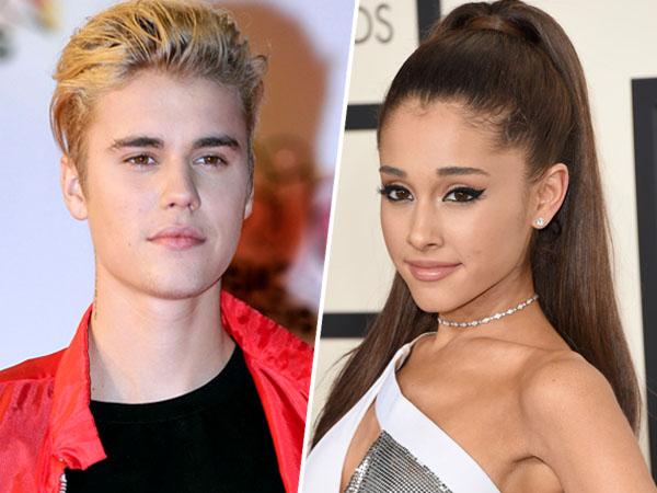 Diminta Fans Pacari Justin Bieber, Ini Reaksi Lucu Ariana Grande