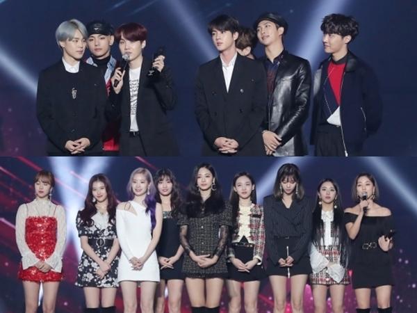 Dominasi BTS, Berikut Daftar Lengkap Pemenang 'Asia Artist Awards 2018' Kategori Musik