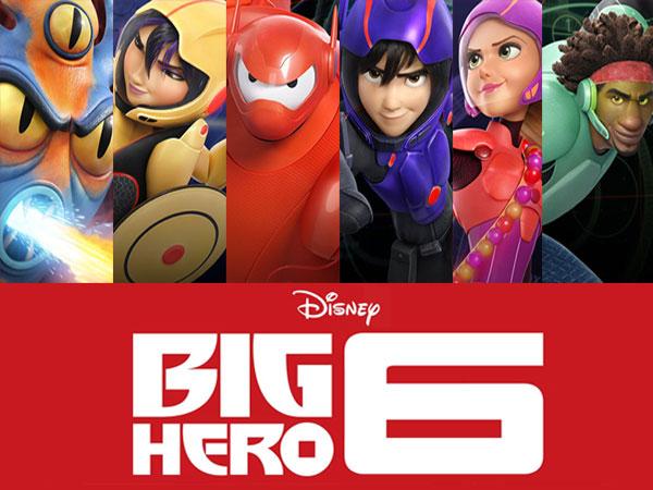 Wah, Ada Tokoh Disney Lain Tersembunyi di Film 'Big Hero 6'?