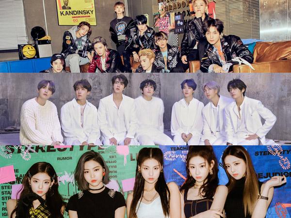 NCT 127 dan ITZY Debut, Inilah Grup K-Pop yang Tempati Chart Billboard World Albums Minggu Ini