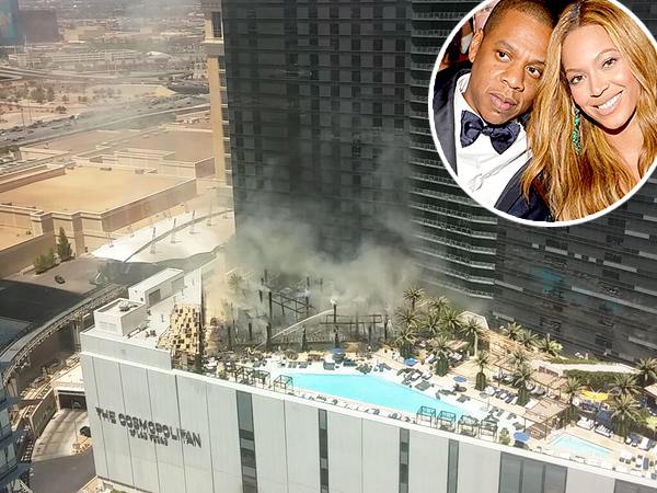 Hotel Tempat Tinggal Beyonce & Jay Z di Las Vegas Terbakar