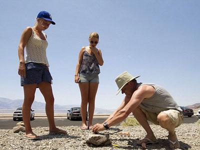 Di Death Valley, Telur Pun Bisa Matang Sendiri