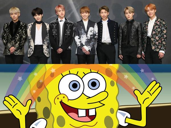 Mulai Spongebob Hingga BTS Ikut Joget Parodi Viral  'Eta Terangkanlah'