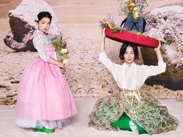 Cantiknya Kang Hye Jung dan Haru Kenakan Hanbok di Pemotretan Vogue