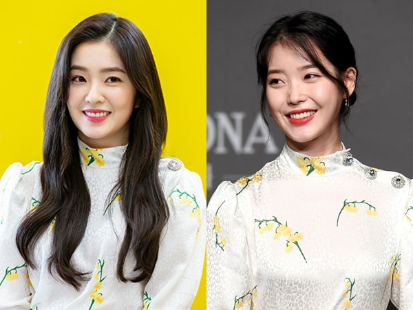 Dress Putih Berbunga Kembar IU dan Irene Red Velvet, Who Wore It Better?