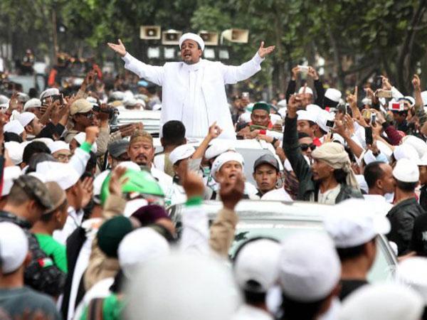 Instruksi Habib Rizieq Jelas: Tenggelamkan Partai 'Banteng'!