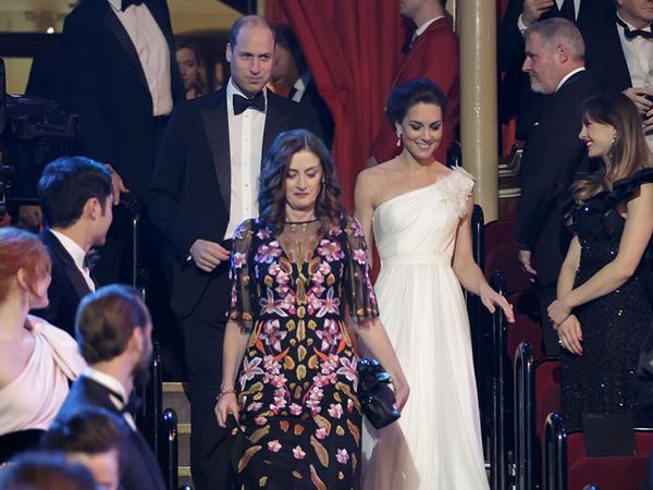 Hadiri BAFTA Awards 2019, Gaya Busana Kate Middleton Mirip Mendiang Putri Diana Jadi Sorotan Publik