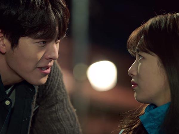 Rilis Poster Resmi, Drama 'Uncontrollably Fond' Tunjukan Keintiman Kim Woo Bin dan Suzy miss A