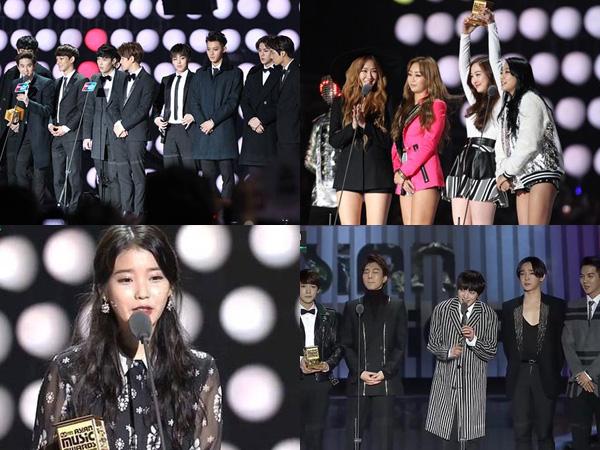 Inilah Para Idola K-Pop Peraih Trofi Penghargaan di MAMA 2014