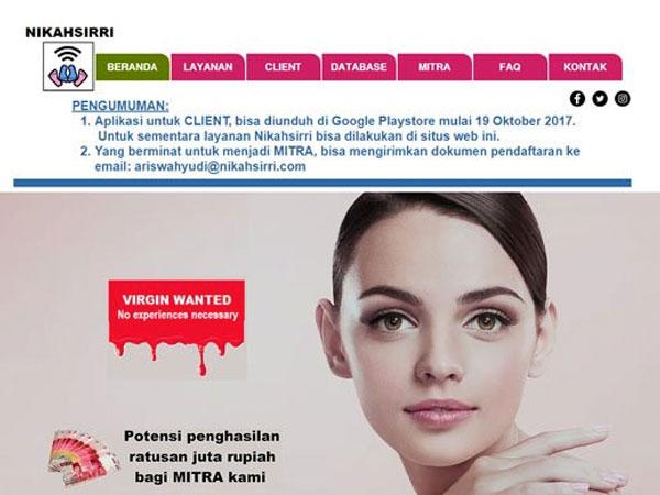 Terungkap, Begini Penampakan Pendiri Situs Nikah Siri yang Bikin Heboh Netizen