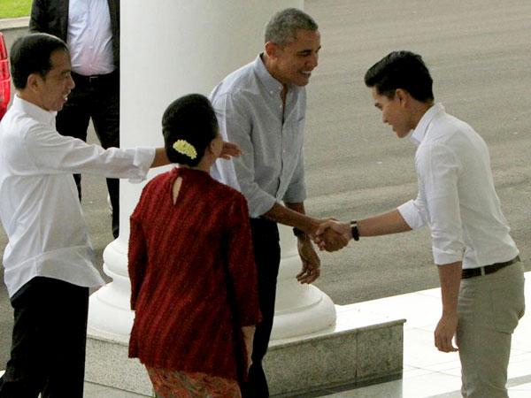 Barack Obama Beri Salam Jempol untuk Kaesang di Istana Bogor