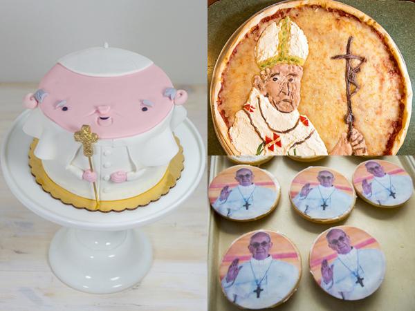 Cookies Hingga Pizza Bergambar Wajah Paus Francis Sambut Kedatangannya di Amerika
