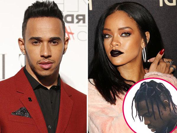 Bukan Lewis Hamilton, Inikah Pacar Baru Rihanna?
