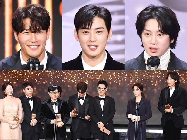 Kim Jong Kook Daesang, Ini Daftar Lengkap Pemenang SBS Entertainment Awards 2020