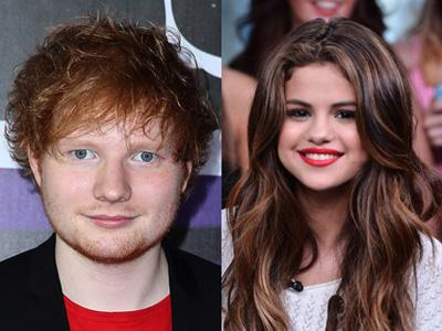 Ed Sheeran Akan Kolaborasi dengan Selena Gomez?