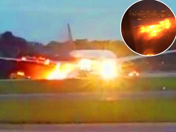Mendarat Darurat, Video Pesawat Singapore Airlines Terbakar Direkam Oleh Penumpangnya Sendiri