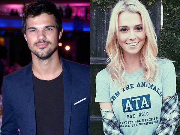 Baru Saja Putus Cinta, Taylor Lautner Sudah Punya Pacar Baru!