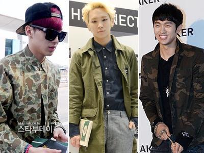 Inspirasi Gaya Army ala Idola K-Pop Cowok