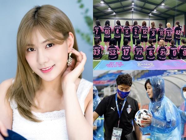 Hayoung Apink Hingga Mina dan Jihyo TWICE Keluar dari Tim Sepakbola Usai Diterpa Rumor Negatif