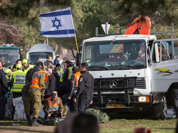 Diduga Pendukung ISIS, Tragedi 'Truk Ngamuk' Kembali Terjadi di Yerrusalem