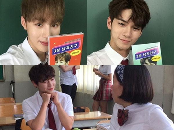 Aksi Kocak Para Member Wanna One Jadi Pacar Sehari di 'SNL Korea'