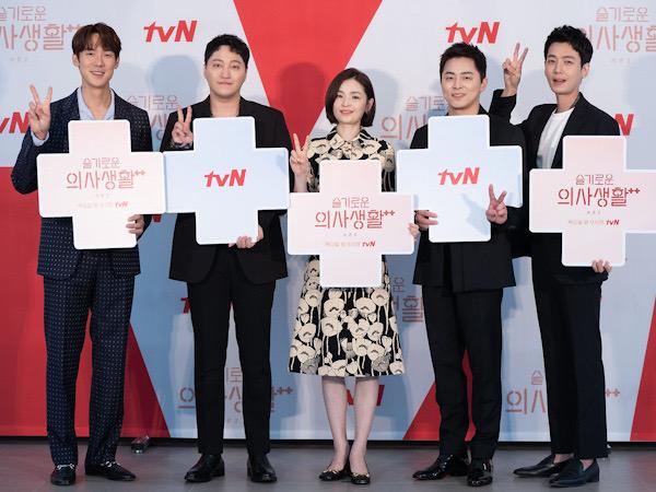 Geser Mr. Sunshine, Hospital Playlist 2 Jadi Drama No. 1 Rating Premiere Tertinggi tvN