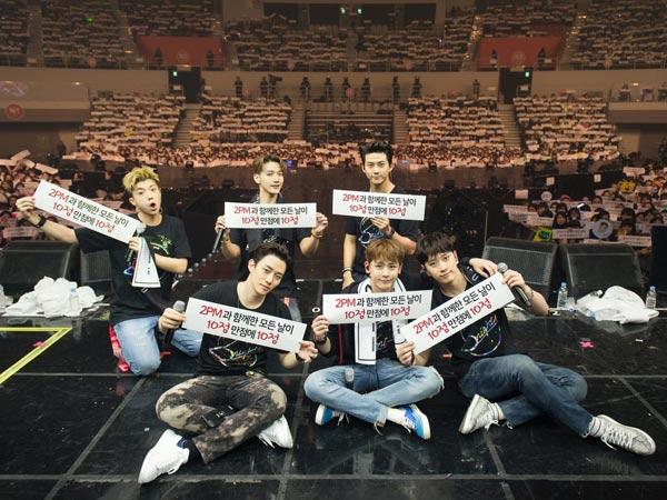 Konser 2PM Dibatalkan dan Siap Tindak Hukum Komentar Buruk, Ini Kata JYP Entertainment