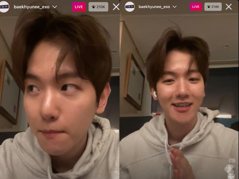 Baekhyun EXO Pamit Pergi Wajib Militer Langsung ke Fans