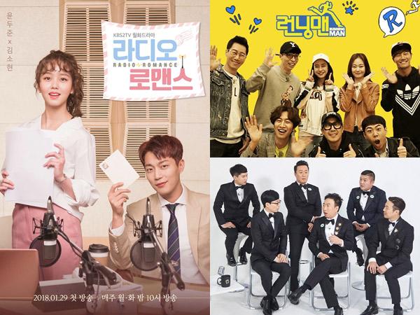 'Radio Romance' Hingga 'Running Man' Alami Perubahan Jadwal Sampai Batal Tayang Minggu Ini
