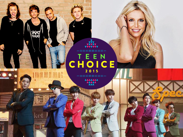 One Direction, Britney Spears, Hingga Super Junior di Daftar Pemenang Teen Choice Awards 2015