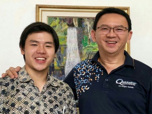 Ucapan Nicholas Putra Sulung Ahok di Perayaan 7 Bulan Kehamilan Puput