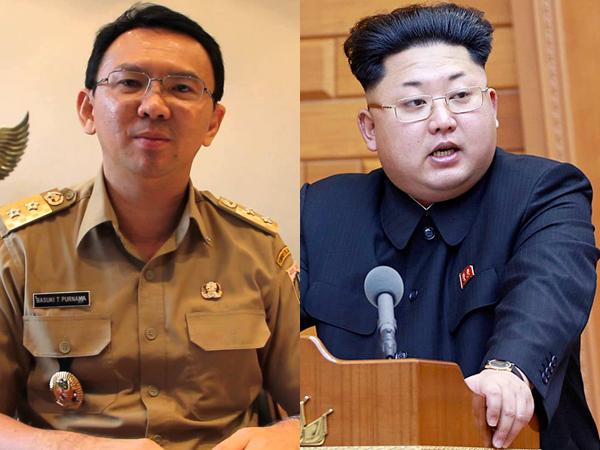 Gubernur Ahok Ingin Bisa Foto Bareng Kim Jong Un