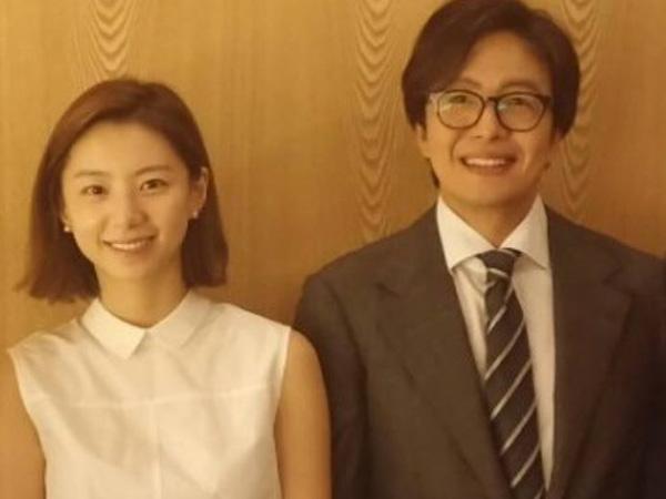 Bayi Pertama Lahir, Bae Yong Joon dan Park Soo Jin Akhirnya Jadi Orangtua Baru!