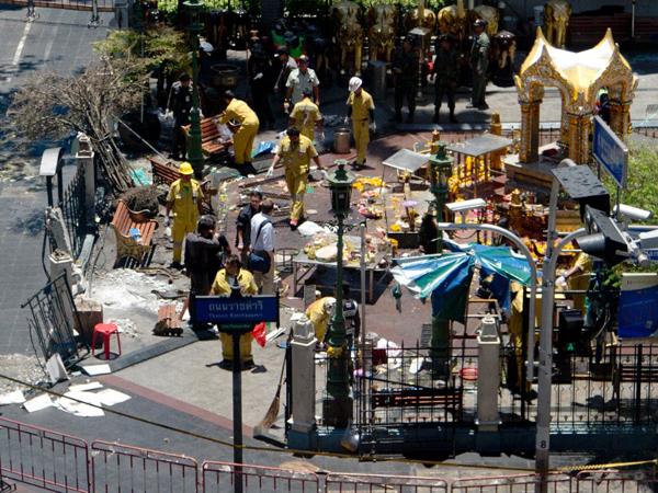 Pelaku Bom Bangkok Jadi 3 Orang, Diduga Bukan Orang Thailand