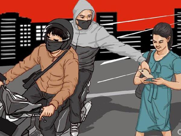 Pedagang Sate di Bekasi Dibacok Begal Karena Mempertahankan Ponselnya