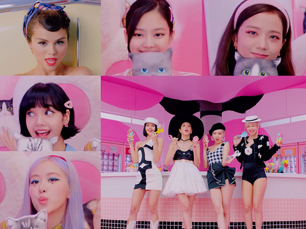 Selpink in Your Area, BLACKPINK x Selena Gomez Tampil Manis di MV 'Ice Cream'