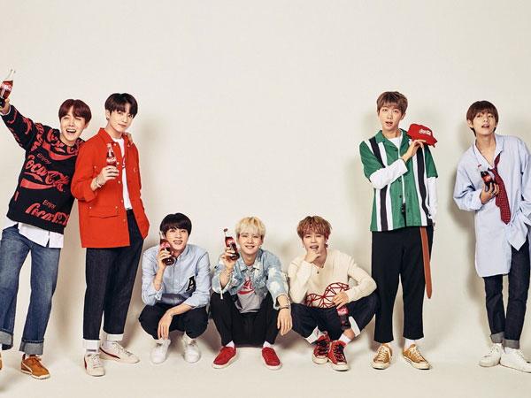 BTS Dipilih Jadi Model Iklan Coca-Cola untuk Kampanye Piala Dunia 2018