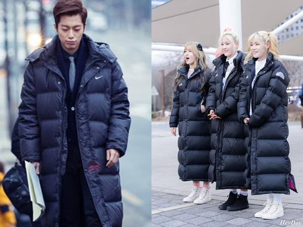 Long Padded Jacket, Tren Jaket Andalan Para Seleb Korea Saat Musim Dingin Tiba