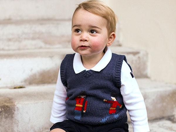 Lucunya! Kerajaan Inggris Rilis Foto-foto Terbaru Pangeran George