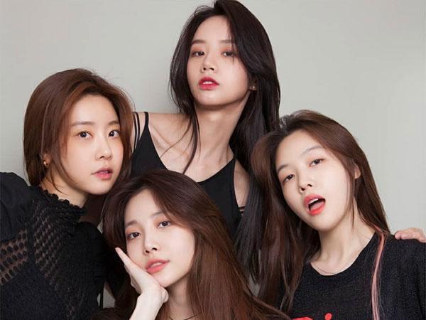 Member Girl's Day Kompak Dukung Hyeri di Lokasi Syuting Drama Baru