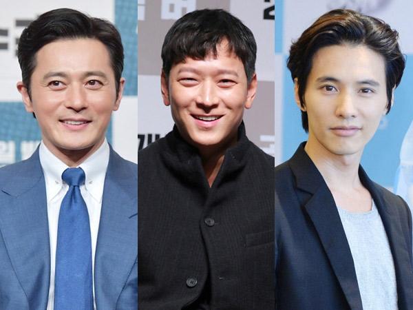 Kalahkan Para 'Oppa', Tiga 'Ahjussi' Ini Jadi Seleb Pria Paling Tampan Pilihan Publik Korea