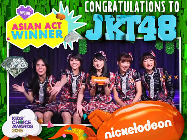 Selamat! JKT48 Menang di Nick Kids Choice Awards 2015!