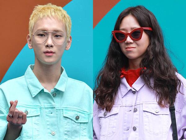 Gaya Retro Nyentrik Kembar Key SHINee & Gong Hyo Jin Curi Perhatian di 'Seoul Fashion Week 2018'